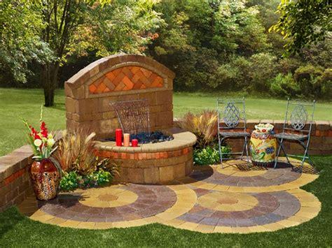 Backyard Wall Fountains by Outdoor Garden Wall Fountains Design Ideas Models Home