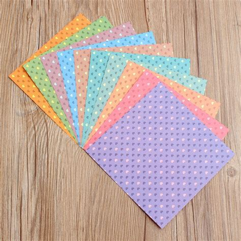 crafts with scrapbook paper 30pcs lot home decor colorful diy paper craft scrapbooking
