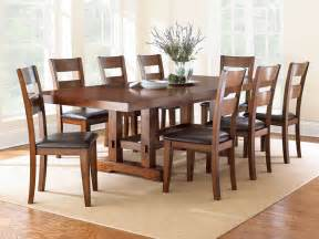 Dining Room Sets 9 Piece by Steve Silver 9 Piece 108x42 Rectangular Zappa Dining Room