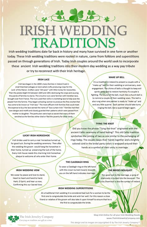 Wedding Blessing Gaeilge by Wedding Tradition Info Graphic Culture And
