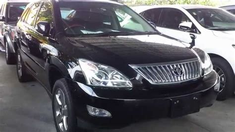 toyota harrier 2012 toyota harrier 2 4 premium l unreg 2012 black youtube