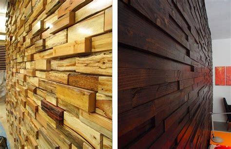 revestimientos de madera reciclada inspiracionespacios
