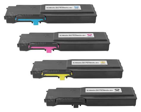 color toner dell s3840cdn toner cartridges set black cyan magenta
