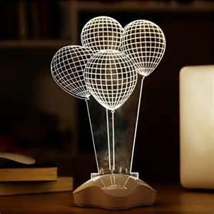 unique lights fding 3d optical illusion visualization led sculpture