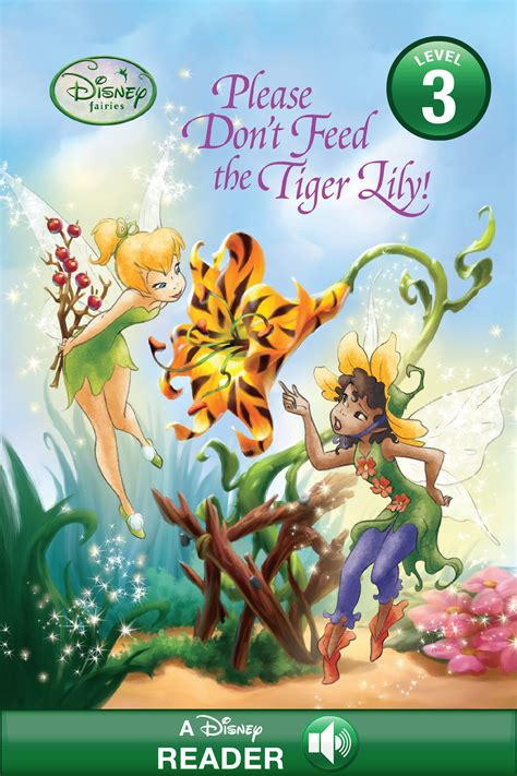 Disney Fairies Please Don T Feed The Tiger Lily Disney