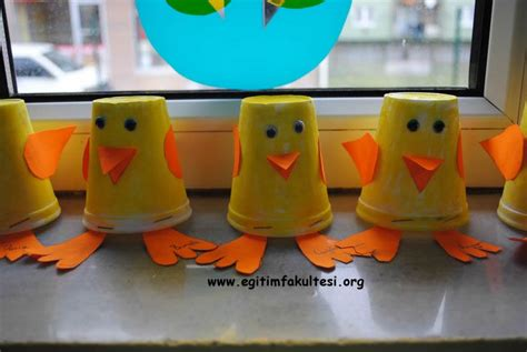 Paper Duck Craft - crafts actvities and worksheets for preschool toddler and