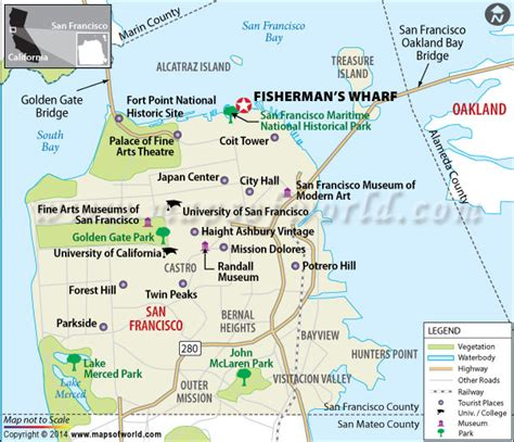 san francisco map of fishermans wharf fisherman s wharf location map