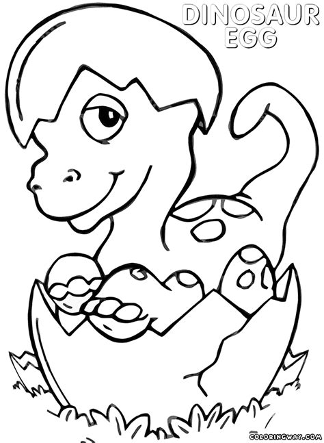 dinosaur egg coloring pages coloring pages