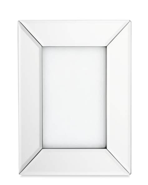mirrored picture frames mirrored picture frame williams sonoma