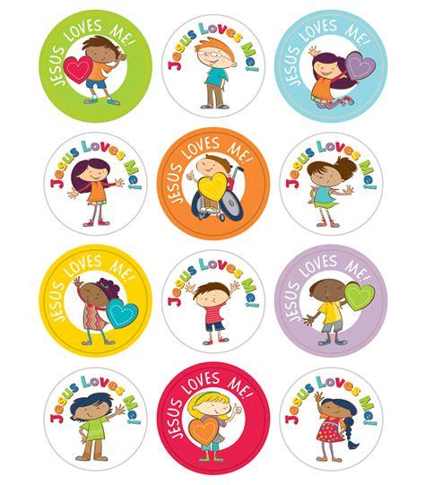 Aufkleber Kinder by Jesus Me Stickers Bring Them In