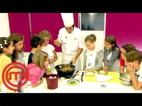 videos de cocina tradicional espa ola clase de cocina tradicional espa 241 ola masterchef junior 3