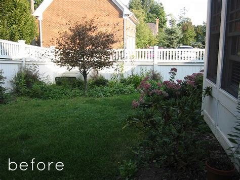 backyard renovations before and after before after two backyard renovations design sponge