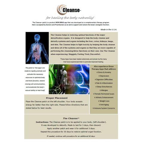 Bio Energy Detox Center Arbor by Cleanse Bioenergy Patch 10 Pack