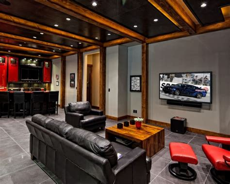 9 epic man caves homes and hues