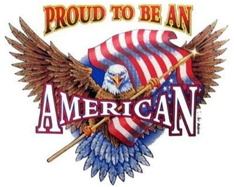 An American Proud To Be An American America Land That