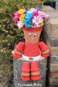 Hobby Lobby Planters by Amazing Diy Clay Pot People Learn How To Make Them The