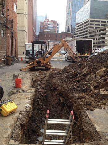 Underground Plumbing Repair Buchi Plumbing Nashville Tn Plumbers