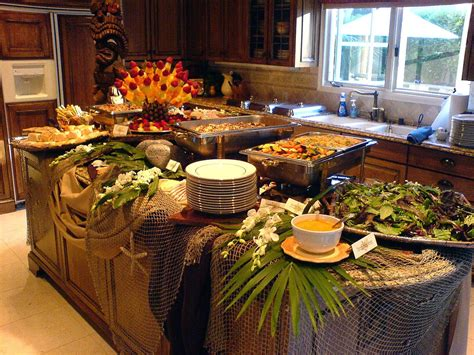 d and d table buffet table ideas home design and d on rustic