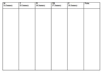 2013 semester pacing guide template file freebie by