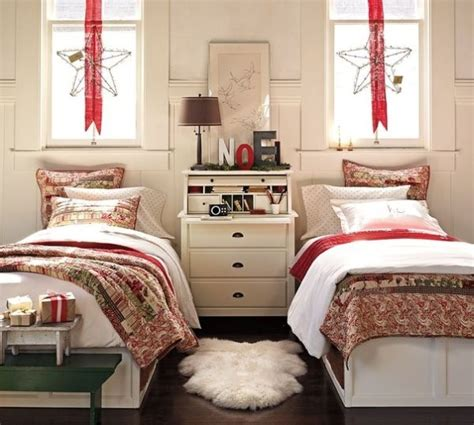 christmas bedrooms two christmas bedroom decor