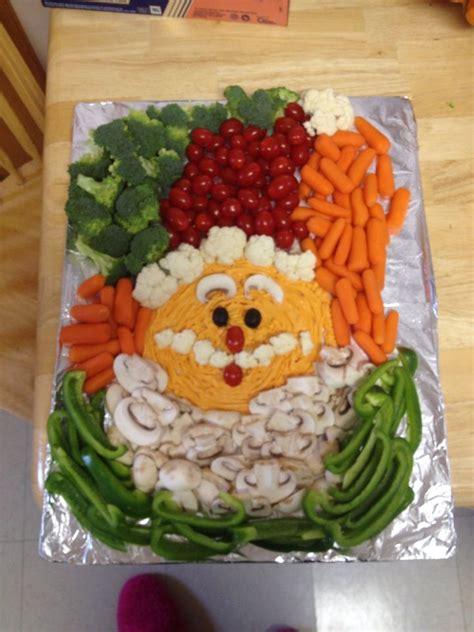 vegetable santa claus platter 1000 ideas about veggie tray on veggie tray vegetable trays and