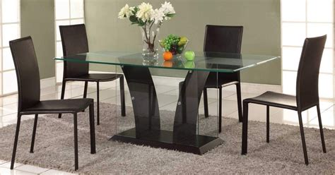 Dining Room Table Bases Contemporary Glass Dining Table Base Ideas