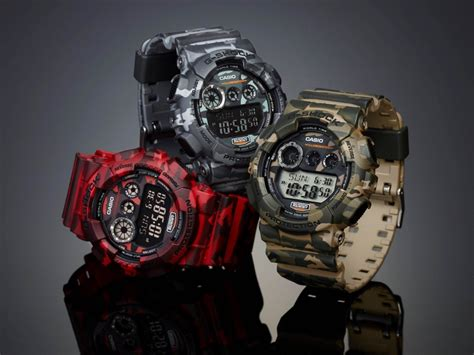 Casio G Shock Camouflage Series 2014 Gd 120cm 4dr Limited Edition gshock crown jewellery