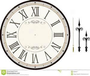 clockface template best 25 clock printable ideas on