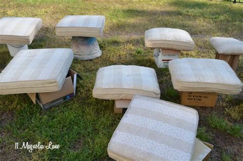 diy painted outdoor cushions   finishmax pro giveaway