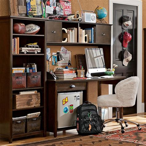 desk for teenager study space inspiration for teens
