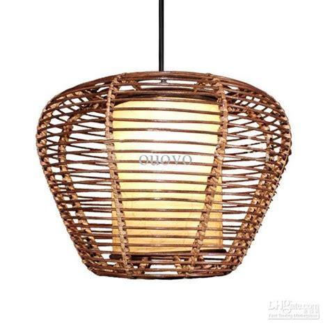 rattan pendant light fixtures southeast asia rattan round trapezoid dining room ceiling