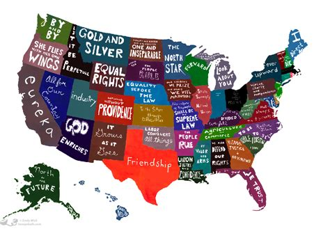 Happiest State In The Us united statements of america map holy kaw