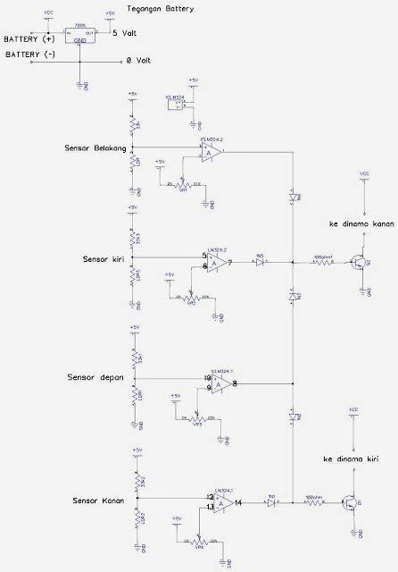 membuat robot light follower zrf electronics cara membuat robot light follower analog
