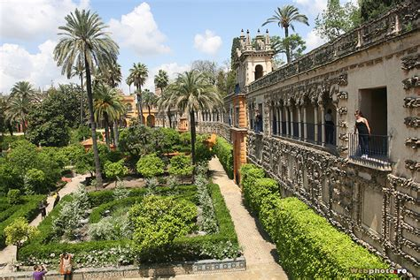 Spain Gardens by The Garden Of Brought To In The Moorish Gardens
