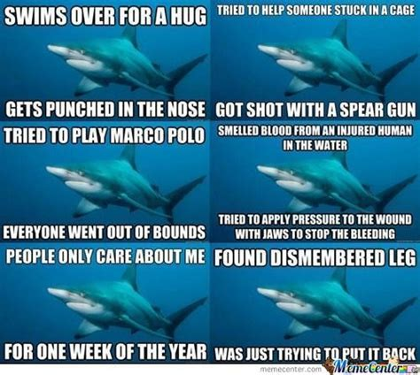Sad Shark Meme - meme center b recht posts page 15