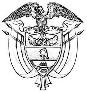 dibujos alusivos para colorear de los simbolos patrios peru s 237 mbolos patrios de colombia para colorear imagui
