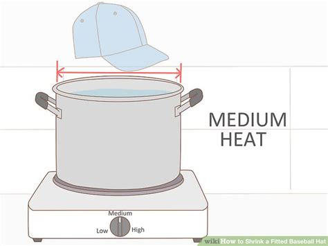 3 ways to shrink a fitted baseball hat wikihow