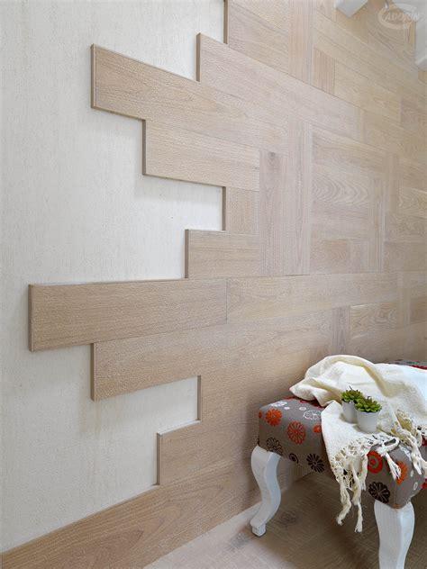 rivestimenti pareti legno listoni in legno parquet castagno effetto ghiaia cadorin