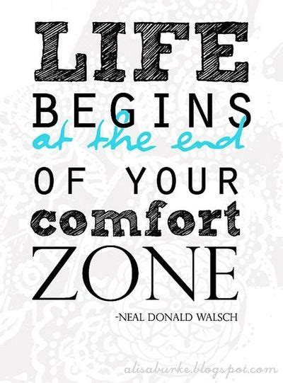 comforts of life quotes about comfort zones quotes
