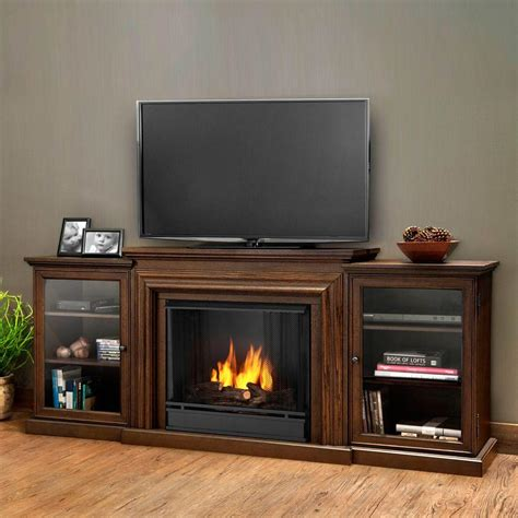 ventless gel fuel fireplace real frederick entertainment 72 in media console