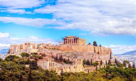 athens and santorini vacation with airfare from go today in athens groupon getaways