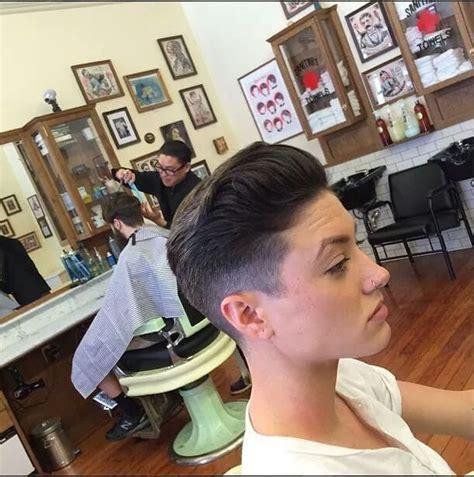 barber her butch haircut 1000 images about girl fade haircut tagli vecchia scuola