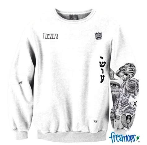 justin bieber tattoo sweatshirt justin bieber his tattoos sweater freshtops freshtops