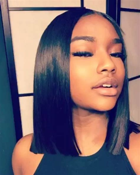 techniques showing how to cut a blunt haircut or bob haircut 17 best images about blunt cuts on pinterest