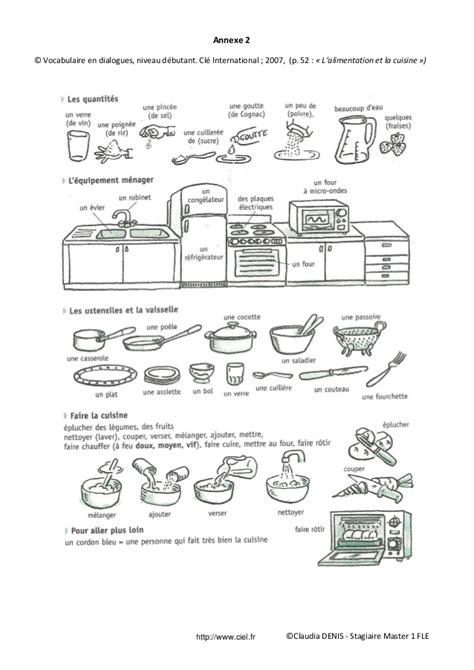 vocabulaire recette de cuisine fiche p 233 dagogique fle imp 233 ratif