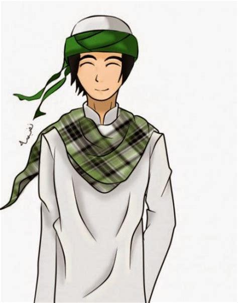 Jubah Anak Soleh gambar muslim kartun yang keren sang manusia akhir zaman