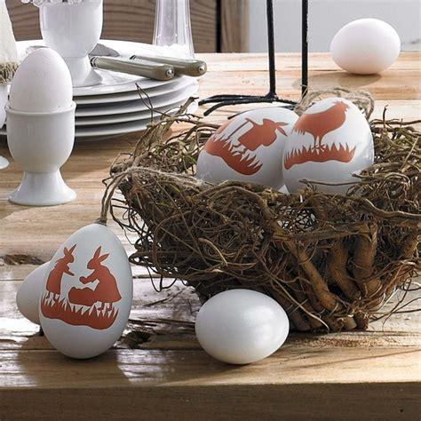 30 kreative ideen f 252 r osterdekoration mit eiern