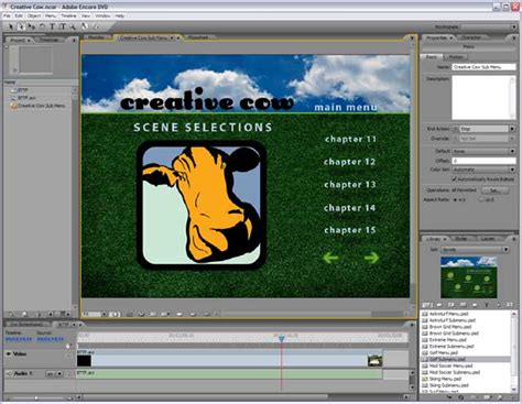 adobe encore dvd menu templates free 10 tips to more free dvd menu templates
