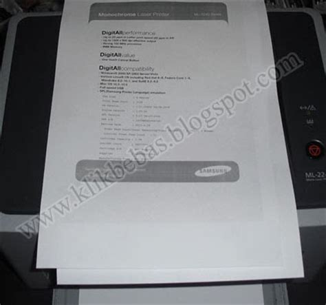 cara reset printer samsung laser cara mereset printer samsung ml 2240 menggunakan