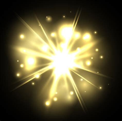 Explosion Light by Light Explosion Effect Background Vector 11 Vector
